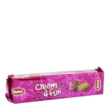 Imagen de Galleta De Fresa Cream 4 Fun Dukes 200 Gr.