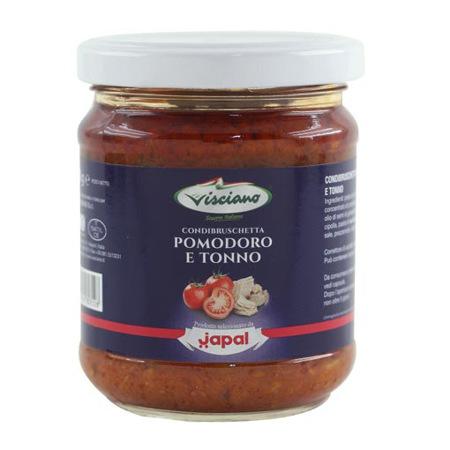 Imagen de Salsa De Tomate Y Atún Visciano 180 Gr.