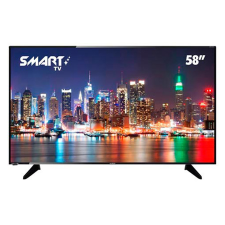 "Imagen de Televisor Smart Full HD Sankey 58""."